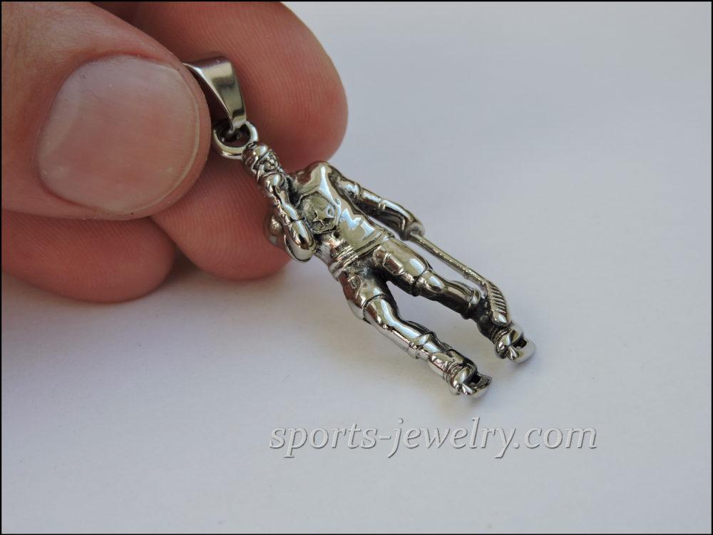 Hockey jewelry steel
