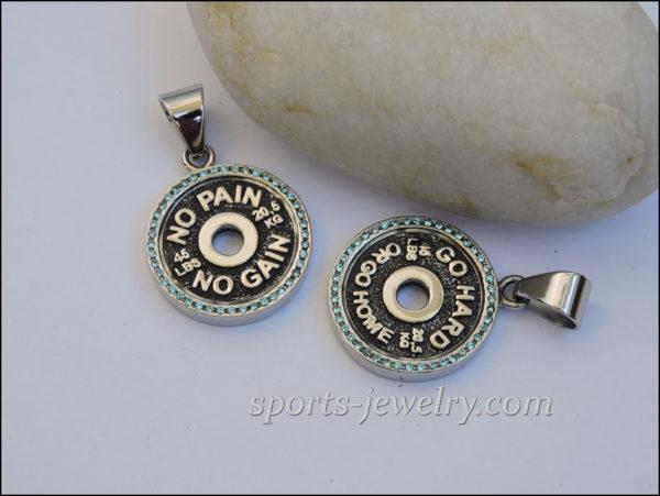 Sports jewelry Gym jewelry Gym jewelry
