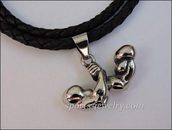 Sports jewelry Muscle wrestling Sports pendants