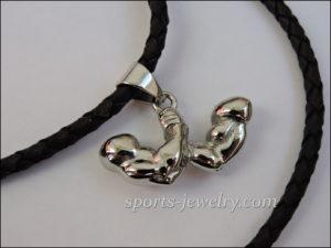 Sports jewelry Sports pendants Muscle wrestling