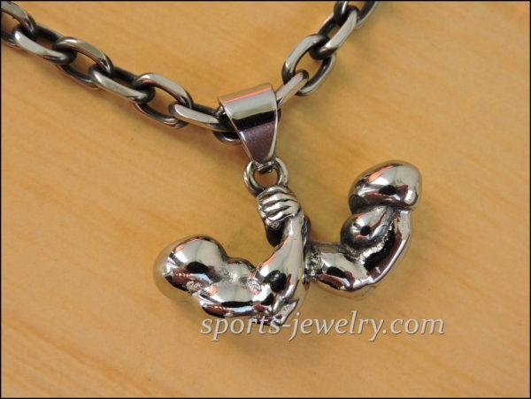 Sports pendants Muscle wrestling Sports jewelry