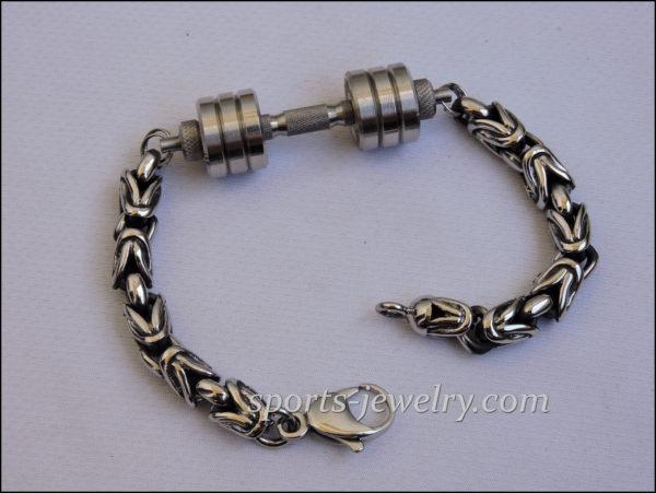 Barbell bracelet Dumbbell bracelet