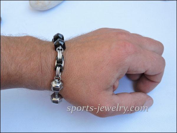Barbell bracelet Powerlifting bracelet