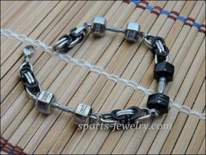 Barbell bracelet Weightlifting bracelet