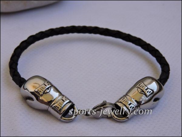 Boxing glove bracelet