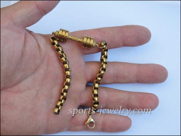 Bracelet dumbbell Gym gifts