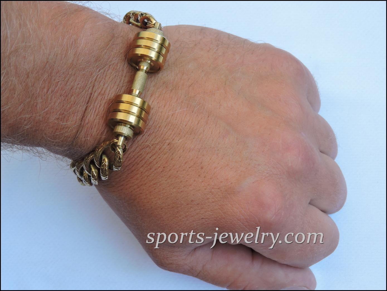 Dumbbell Bracelet Lifting Gift