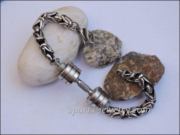 Dumbbell Weightlifting bracelet