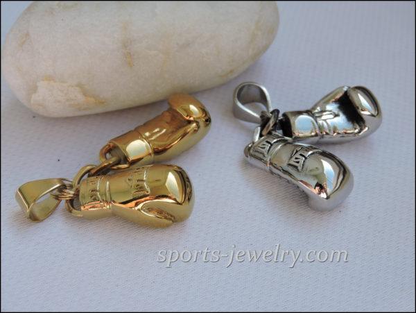 Golden gloves jewelry Golden gloves necklace