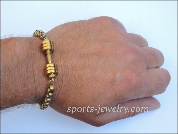 Gym gifts Bracelet dumbbell