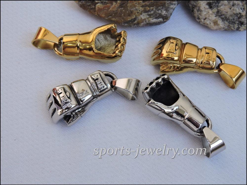 Mma jewelry Ufc pendant gold