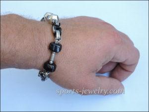 Powerlifting bracelet Barbell bracelet