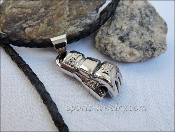 Ufc necklace Golden gloves chain