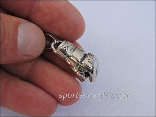 Ufc necklace gold Mma glove pendant