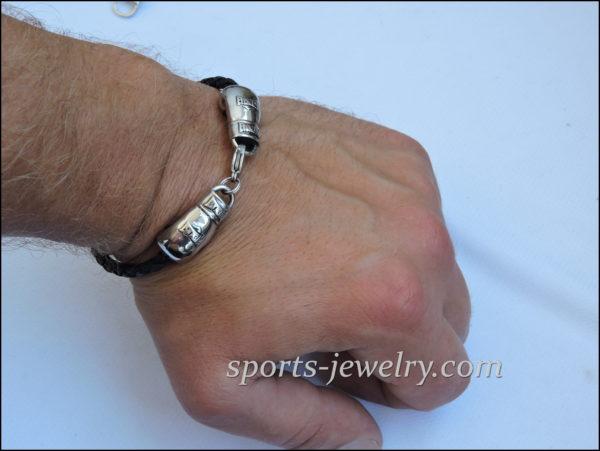 Weightlifting bracelet Dumbbell bracelet
