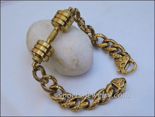 Workout bracelets Bracelet dumbbell Gym gifts