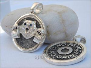 Bear necklace Gift ideas for a coach
