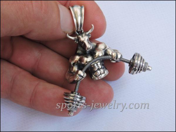Bodybuilding jewelry Bismark chain