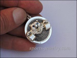 Gift ideas for a coach Bear necklace