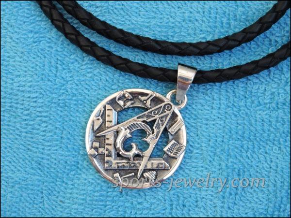 Masonic pendant Silver