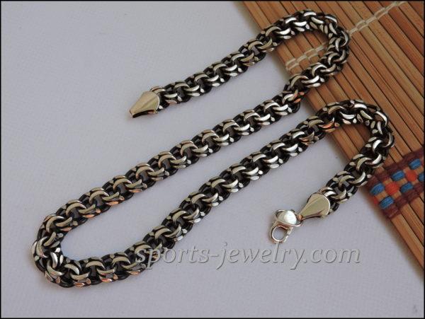 Sports gift for men Bismarck necklace