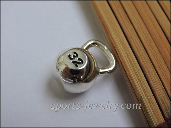 Kettlebell jewelry