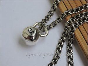 Kettlebell pendant