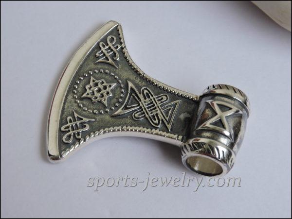 Silver Axe necklace Necklace