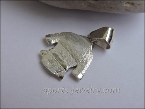 Silver karate pendant buy