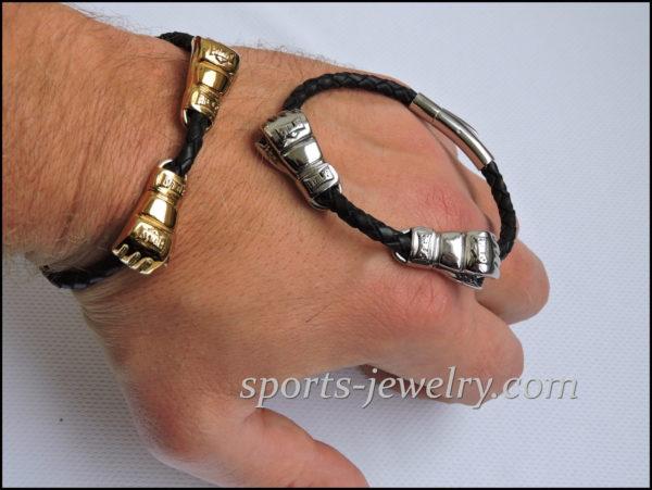 Boxing gloves bracelet