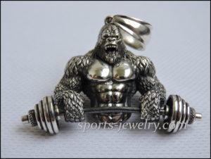 Gorilla pendant Sports gifts
