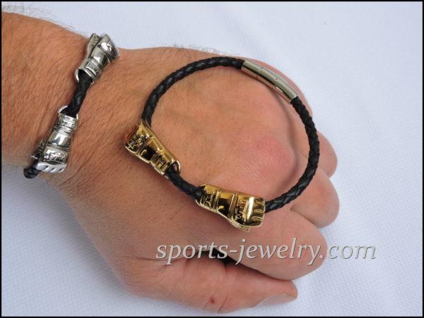 Gym gifts for men Boxing gloves bracelet