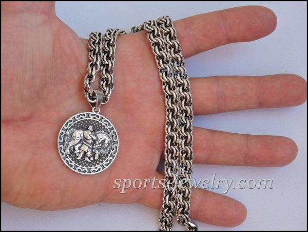 Bogatyr pendant Gift to man