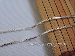 Silver Venetian chain