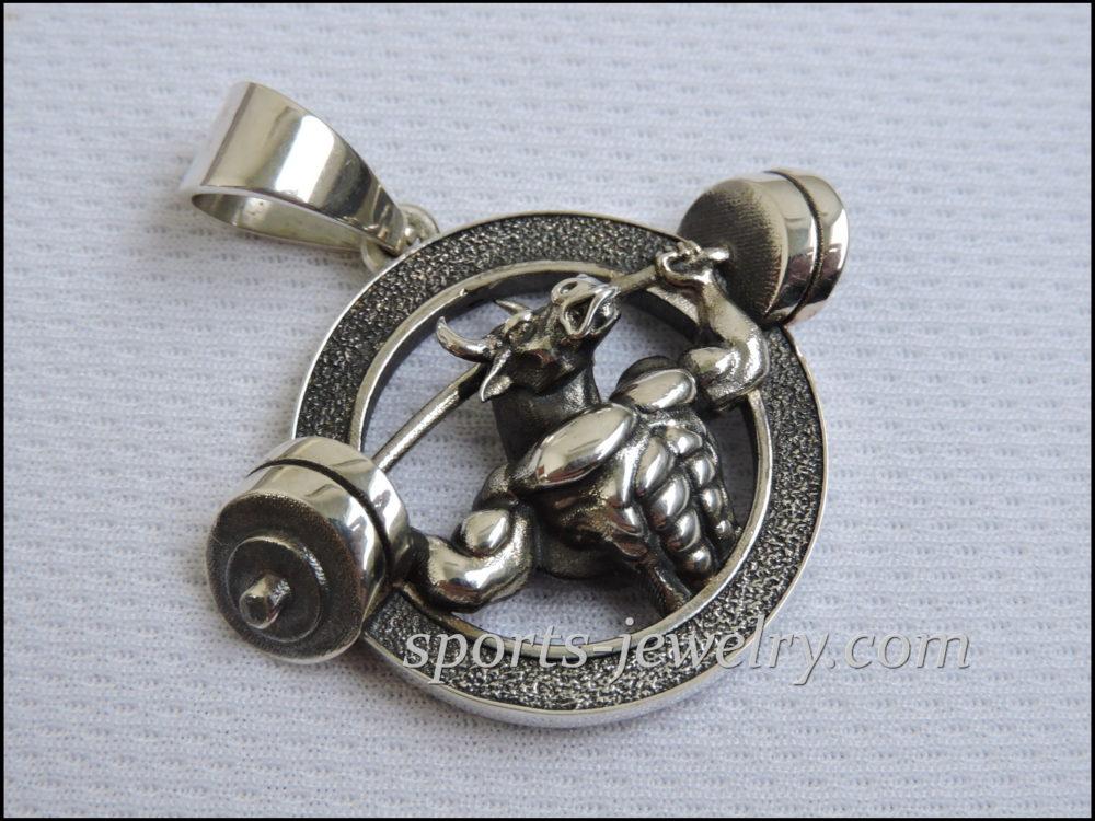 Sports gifts Bull pendant