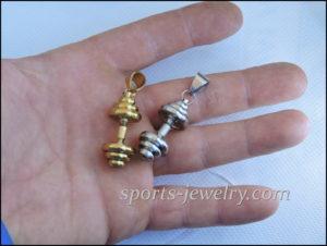 Dumbbell chain Sports gift for men