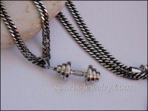 Fitness gift Dumbbell chain