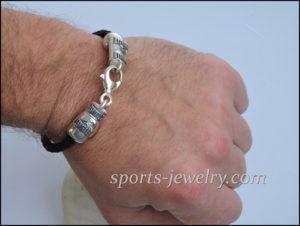 Glove necklace Sports bracelets for men