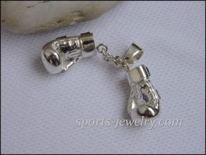 Jewelry pendant gloves..