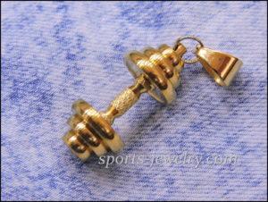 Sports gift for men Dumbbell chain