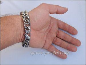 Big Stainless steel bracelet photo