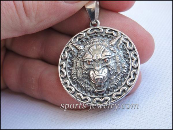 Buy Wolf pendant