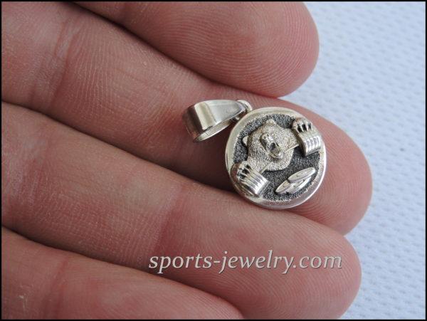 Charm bear Gym jewelry
