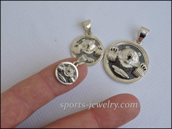 Charm bear Sport jewelry