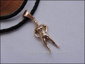 Gift ideas for cheer coach Men's Physique pendant