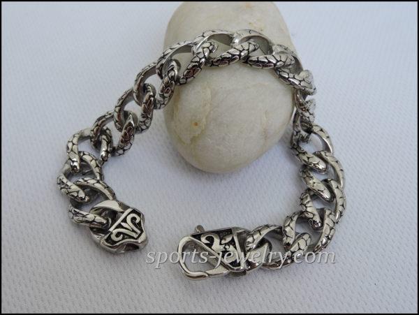 Gifts for men Stainless steel bracelet
