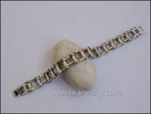 Men's Motorcycle chain bracelet