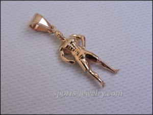 Men's Physique pendant Sport jewelry