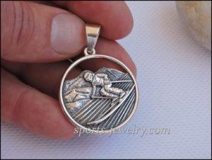 Ski pendant Gift to skier
