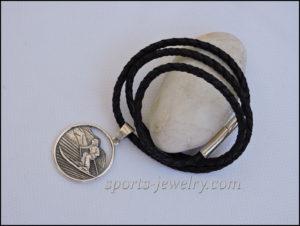 Ski pendant Sports jewelry